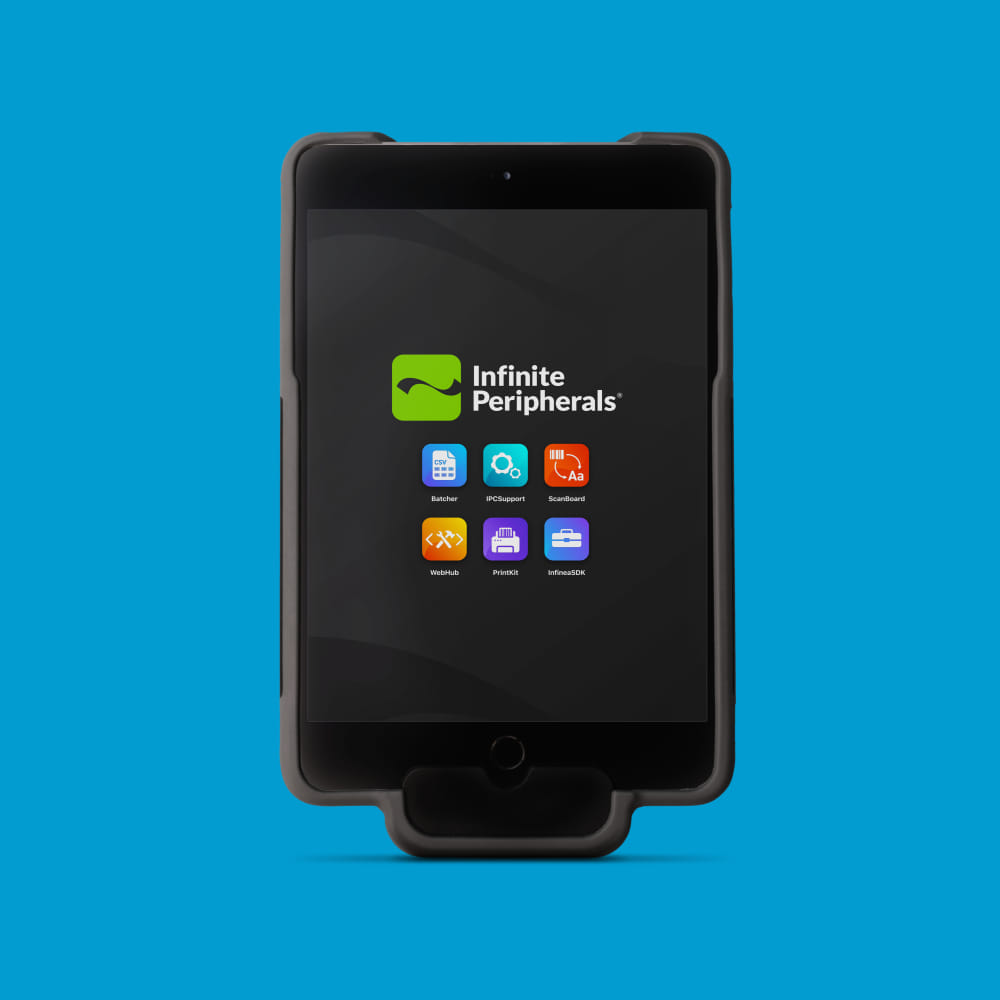 Infinite Peripherals Infinea mPOS Tab with near field communication (NFC)