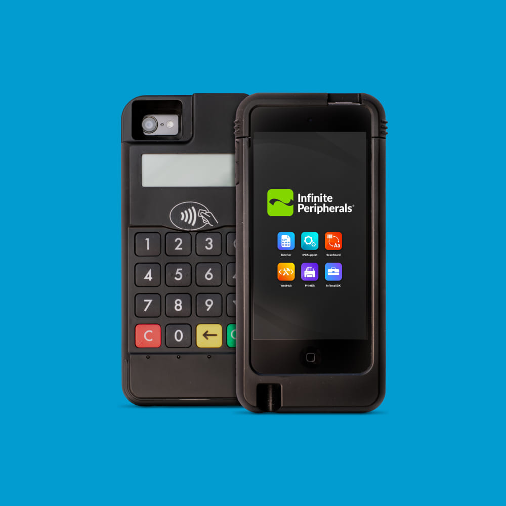 Infinite Peripherals Infinea mPOS with near field communication (NFC)