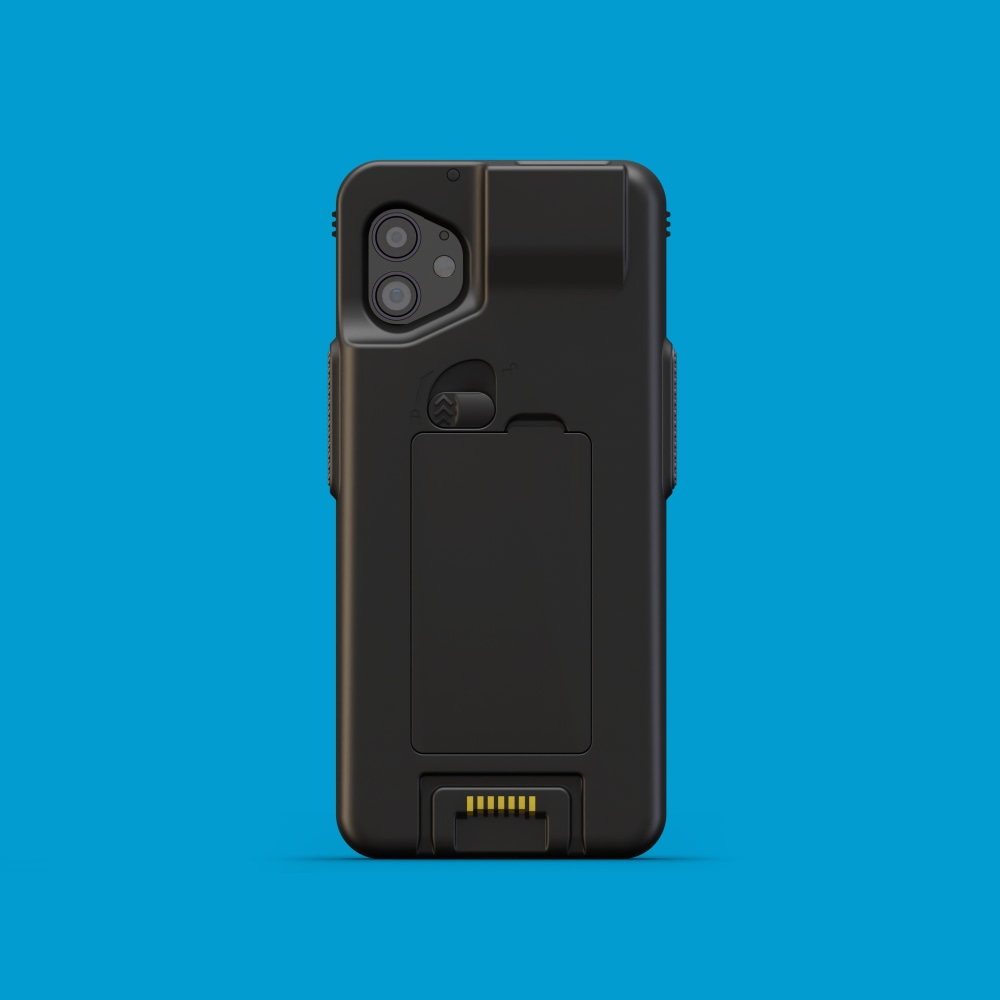 Infinite Peripherals Linea Pro Rugged for iPhone XR and 11 back