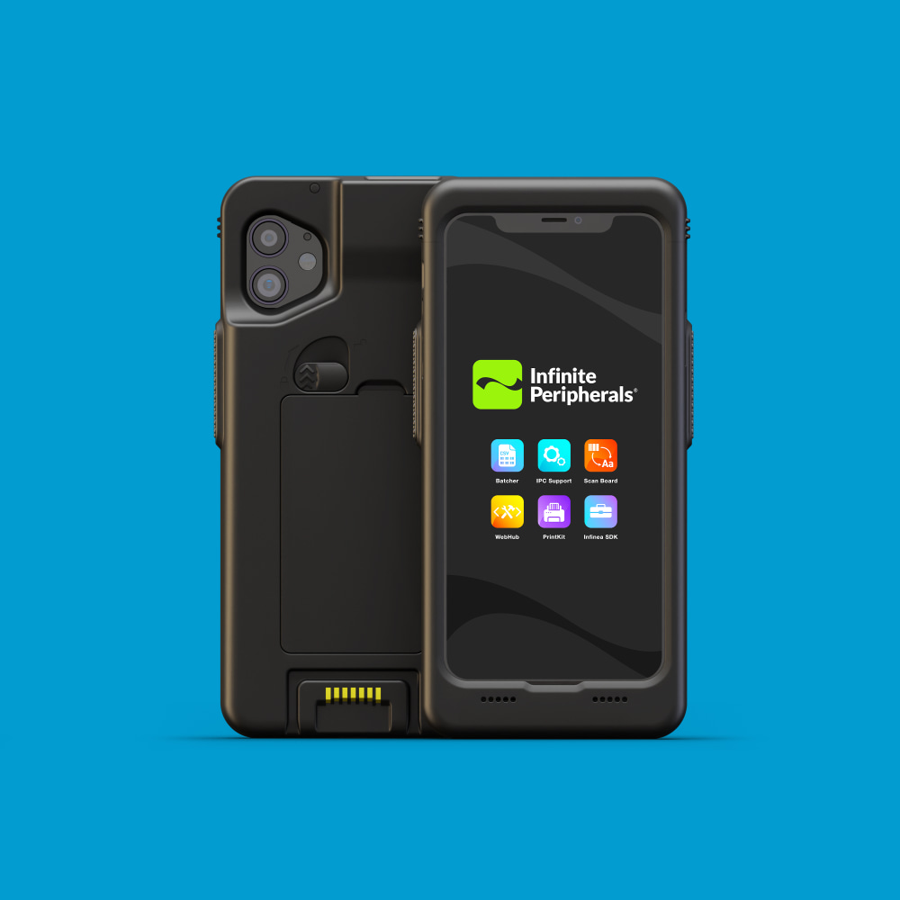 Infinite Peripherals Linea Pro Rugged for iPhone XR and 11