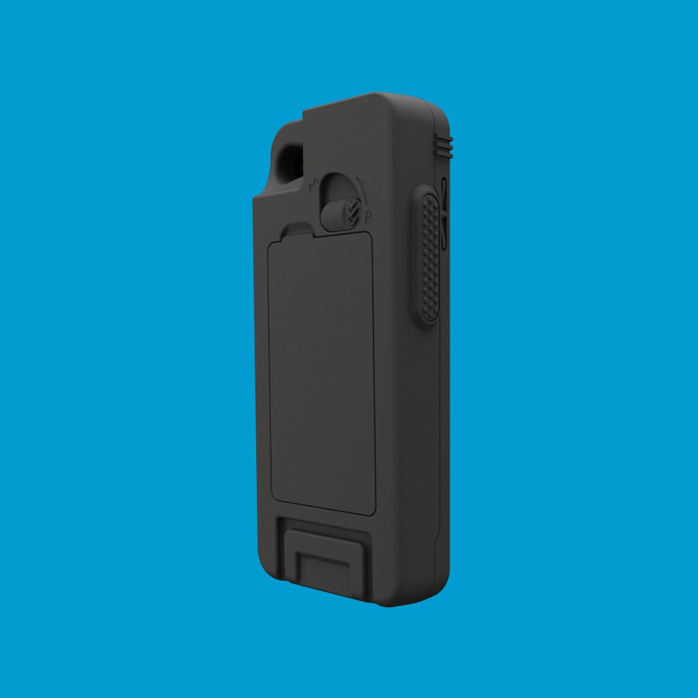 Infinite Peripherals Linea Pro Rugged for iPod touch back right