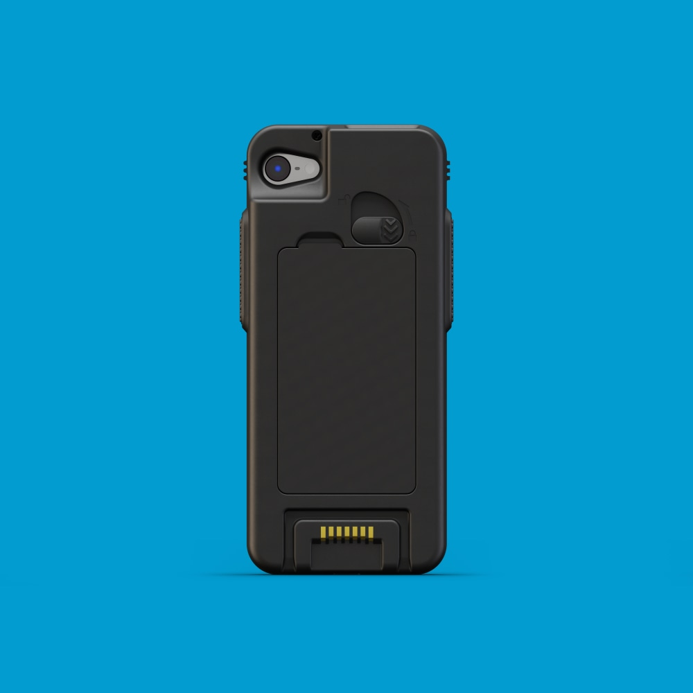 Infinite Peripherals Linea Pro Rugged for iPod touch back