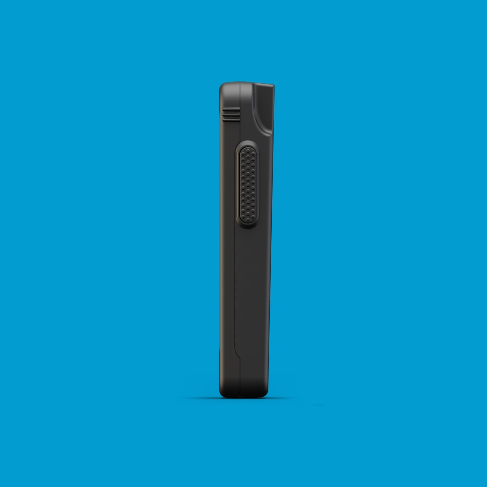 Infinite Peripherals Linea Pro Rugged for iPod touch left
