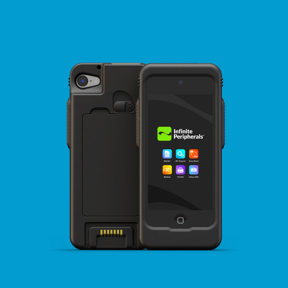 Infinite Peripherals Linea Pro Rugged for iPod touch
