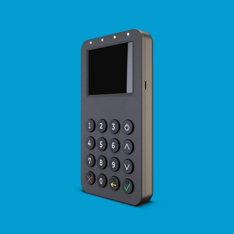 Infinite Peripherals Infinea Bluepad 2.0 near field communication (NFC) payment