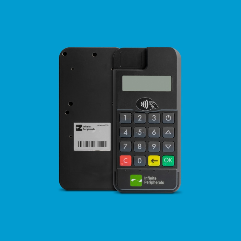 Infinite Peripherals Infinea mPOS Flat with 1D barcode scanning