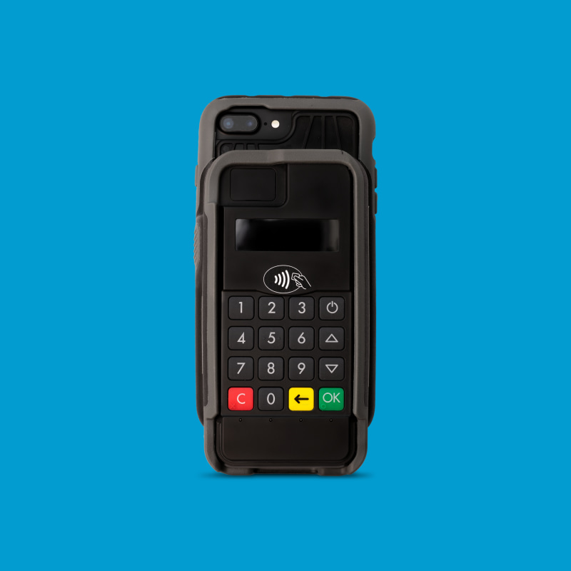 Infinite Peripherals Infinea mPOS Plus contactless payment with Apple Pay and Samsung Pay