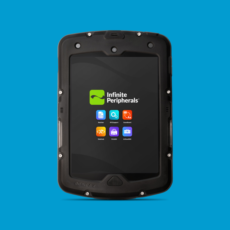 Infinite Peripherals Infinea X Mini with 2D barcode scanning