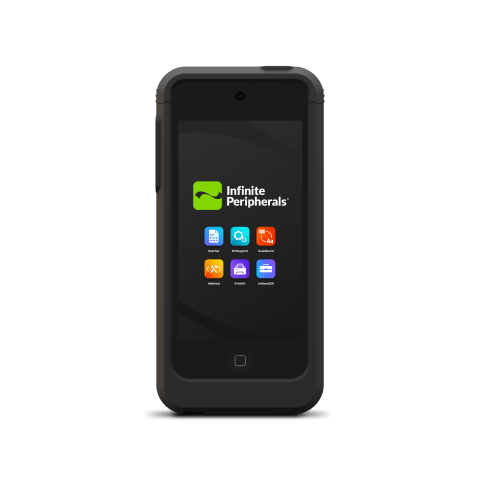 Linea Pro Front of Device