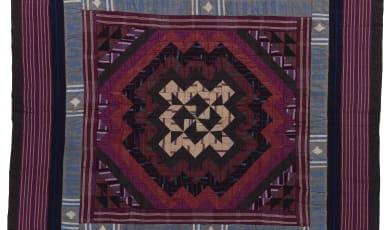 Ashoké fabric quilt made by the Yoruba people