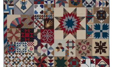 Americana Sampler  Designed and made by Liz Porter and Marianne Fons Quilted by Luella Fairholm