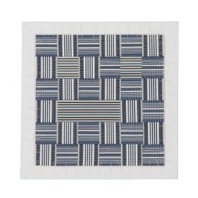 Stripe Remix, blue #3