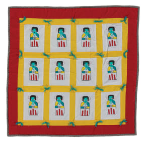 Flat Doll Kachina Quilt