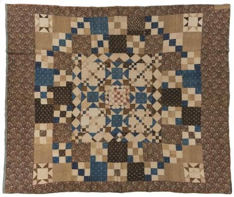 Nine-Patch Variation Quilt Photo