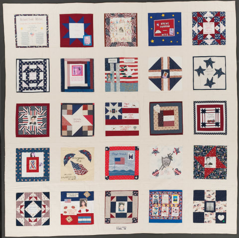United in Memory 9/11 Victims Memorial Quilt