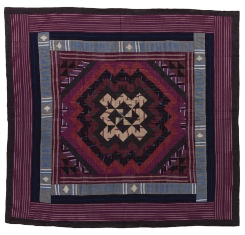 Ashoke fabric quilt