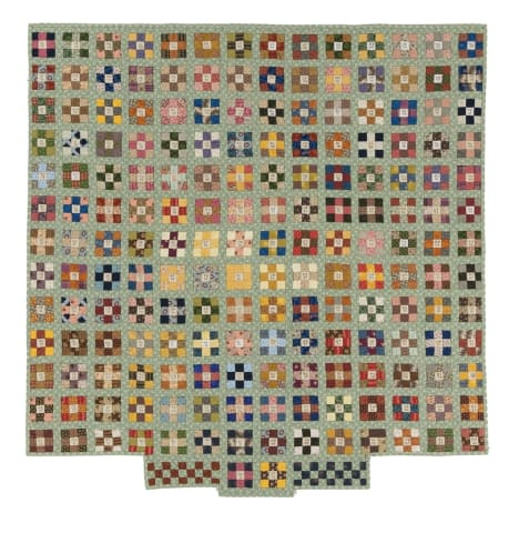A Pentagon Garden by Don Beld and Bernice Foster from the International Quilt Museum collection