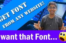 How to rip font or extract font from any website