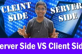 Difference between Server Side and Client Side games