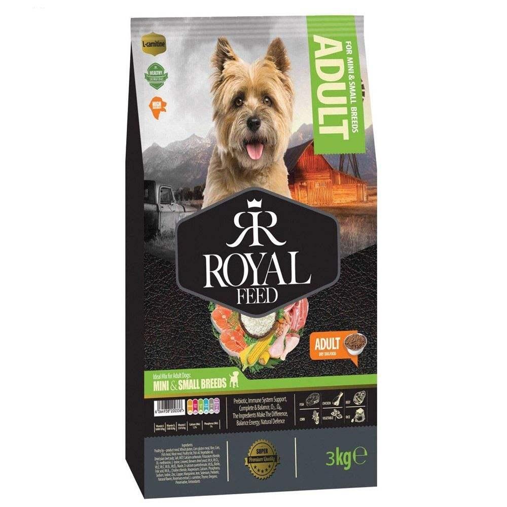 غذای خشک سگ رویال فید مدل SMALL & MINI وزن 3 کیلوگرم