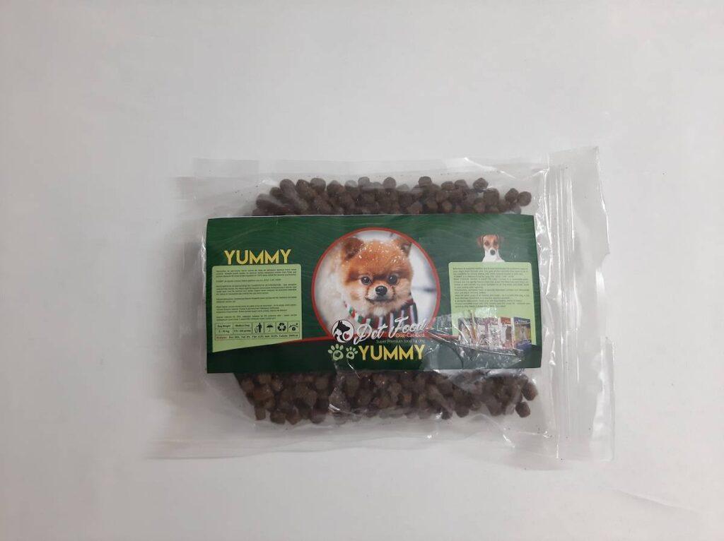 غذای خشک سگهای کم مو برند یامی وزن ۴۰۰ گرمی | نوین پت شاپ
