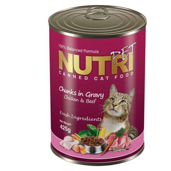کنسرو غذای گربه نوتری پت | پرشین پت لند