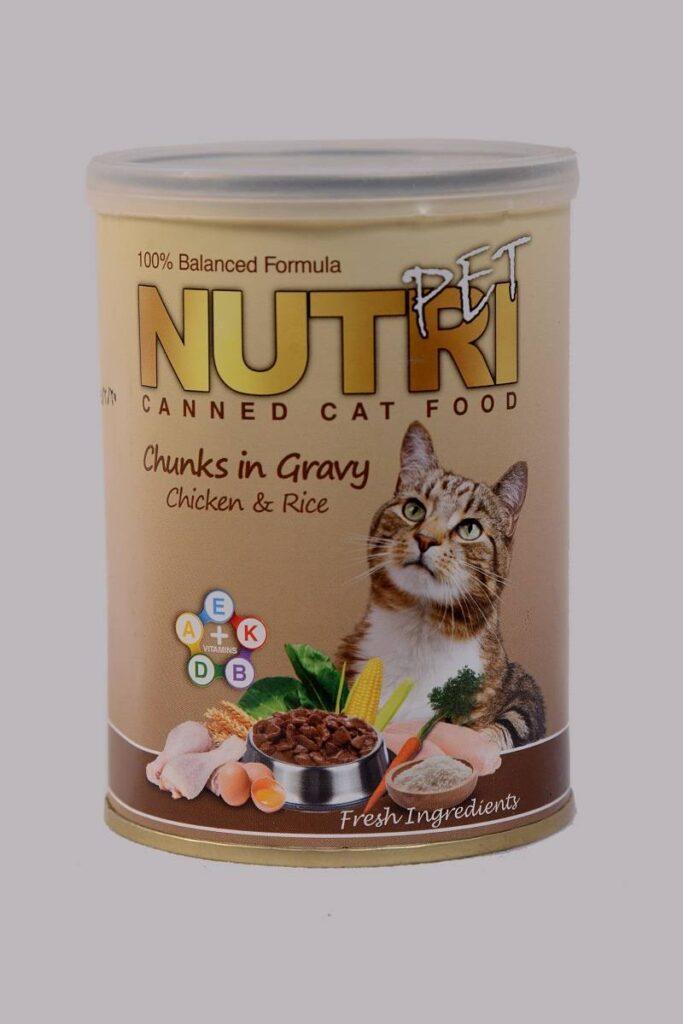 کنسرو غذای گربه نوتری | پرشین پت لند