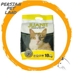 خاک بستر گربه ژوانیت با رایحه لیمو وزن 10 کیلوگرم | پرشین پت لند