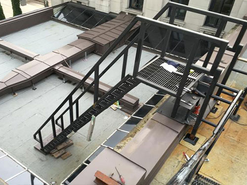 Ship's Ladder Installation