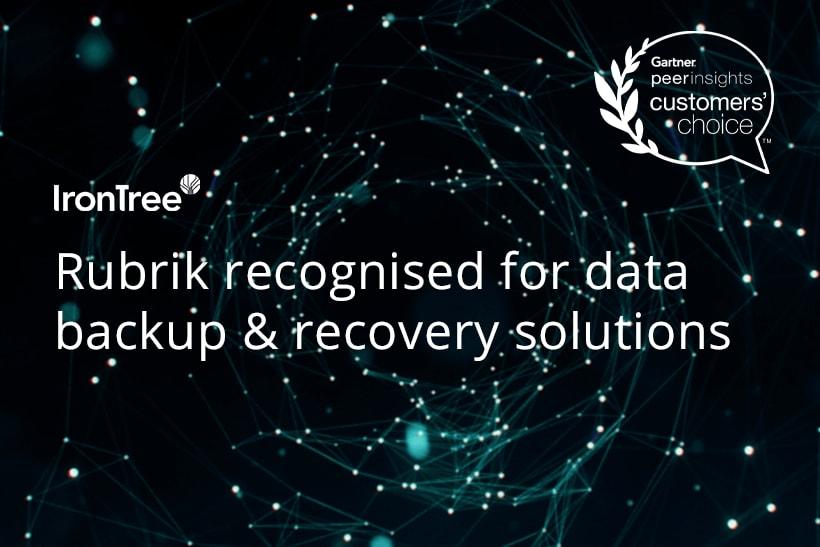 rubrik recognised for data backup