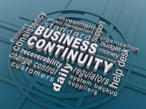 business continuity word cloud