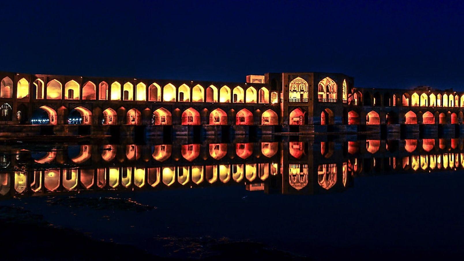 Khaju Bridge esfahan