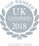 UK Chambers & Partners Leading Firm 2018