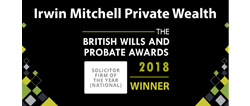 British Wills And Probate Awards 2018 - Solicitor Firm of the Year (National)