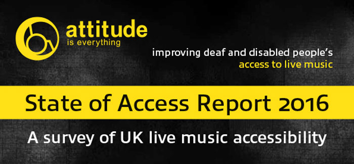 Attitude is Everything - State of Access report