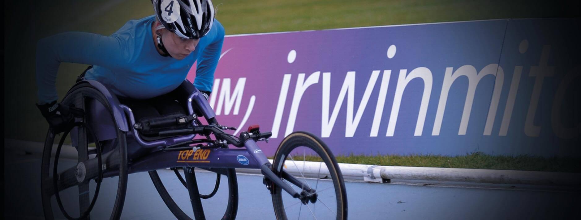 Hannah Cockroft Wheelchair Racing