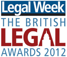 Legal Week British Legal Awards 2012
