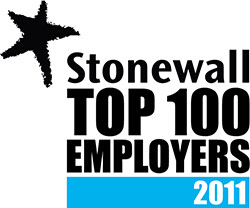 Stonewall Top 100 Employers 2011