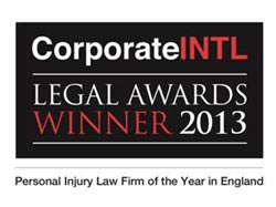 Corporate INTL Legal Awards Winner 2013