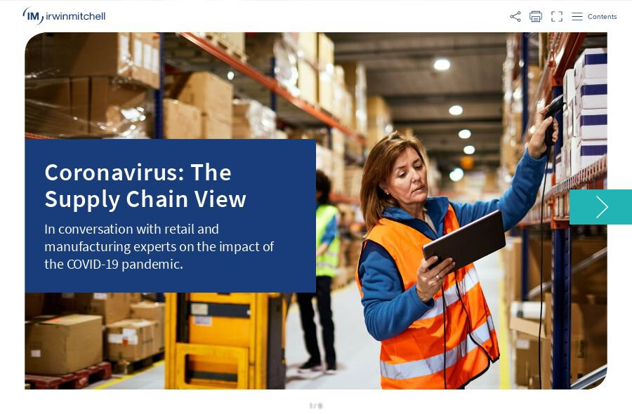 Read our 'Coronavirus: The Supply Chain View' briefing
