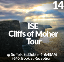 ISE Cliffs of Moher Tour 14 07