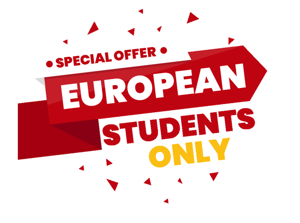 Special Offer Europian Students Only