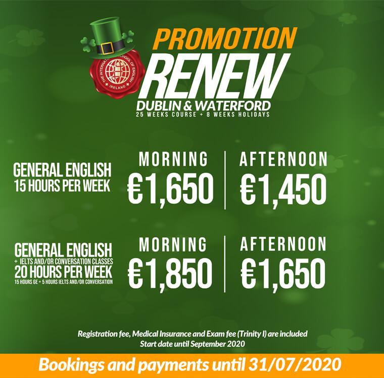 ISE Ireland Offer, June 2020, Dublin & Waterford