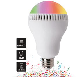 Smart AudioBulb