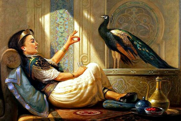 Islamic Arts painting portrait