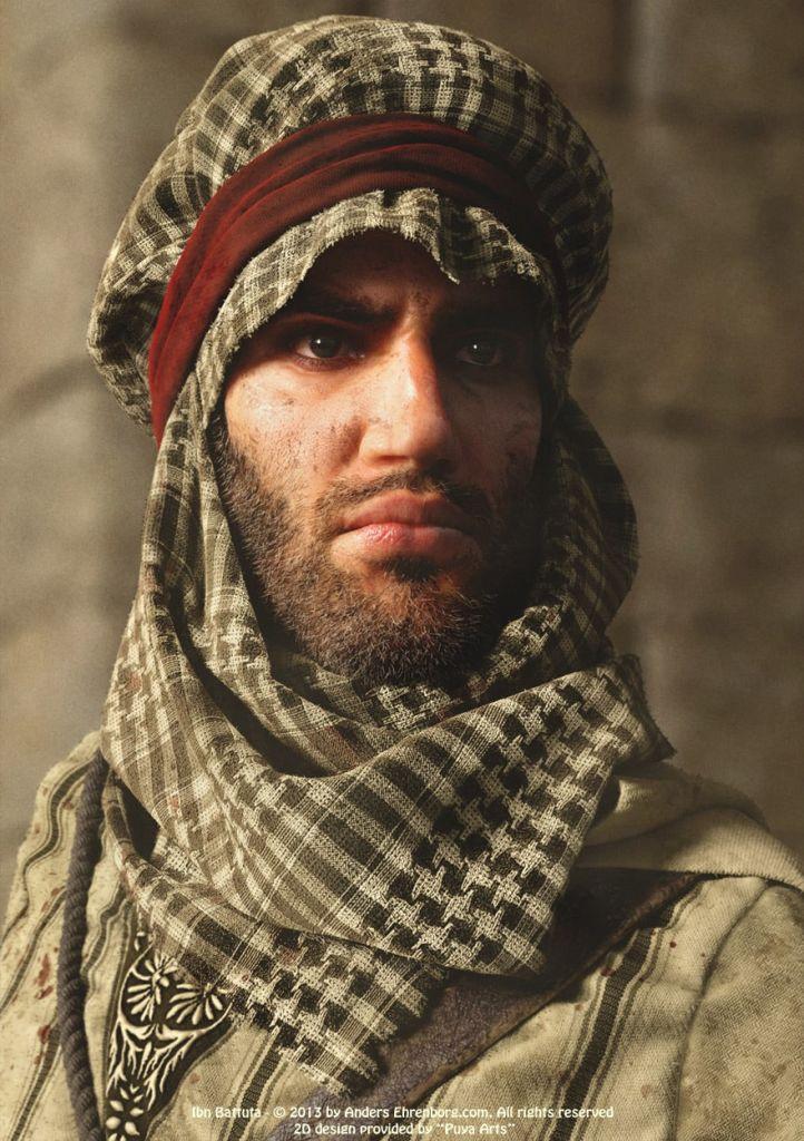 Ibn Battuta by Anders Ehrenborg