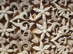 Islamic ornaments in Alhambra