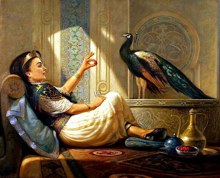 Islamic Arts painting portrait