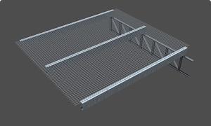 Sobre la estructura portante se deben disponer los rollos de RED 2x2 ISOLANT en el mismo sentido que la chapa.  Los rollos de RED 2x2 ISOLANT deben tensarse y luego fijarse con tornillos autoperforantes. En la unión deben solaparse lateralmente entre 5 y 10 cm, sin necesidad de unirlos y/o pegarlos entre sí.