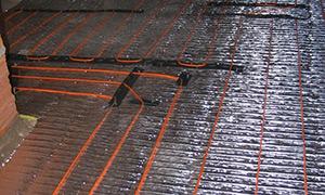 Colocación Membranas A en pisos